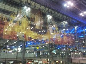 The Airport in Bangkok