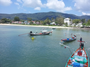 The harbor on Koh Samui.