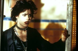 "From the movie ""The Craft,"" here's a 90's Goth girl, just like I was."