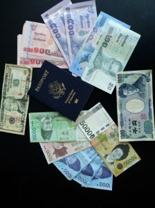 Passport, and money!