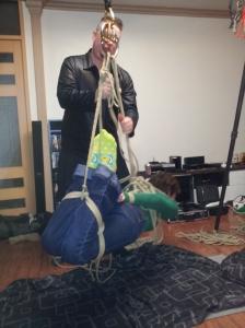 Rope suspension