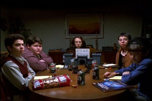 "D&D game in ""Freaks and Geeks"""
