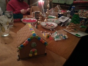 This is my first ever ginger bread house