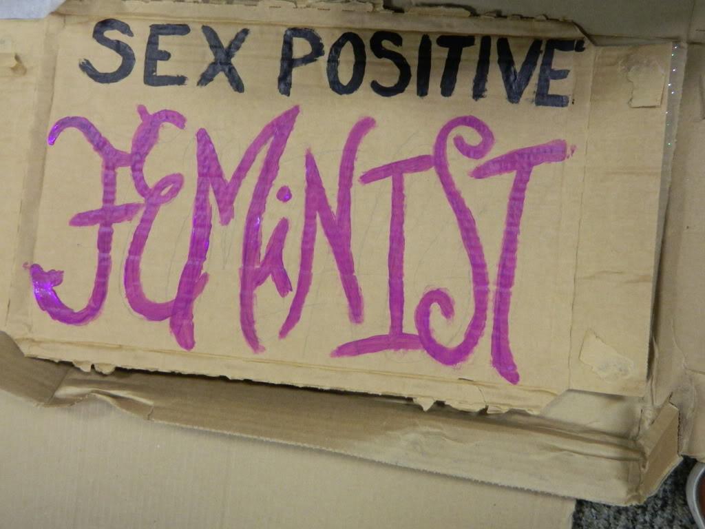 Sex positive feminist cum shot boobs