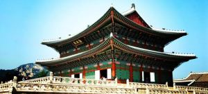 Palace in South Korea